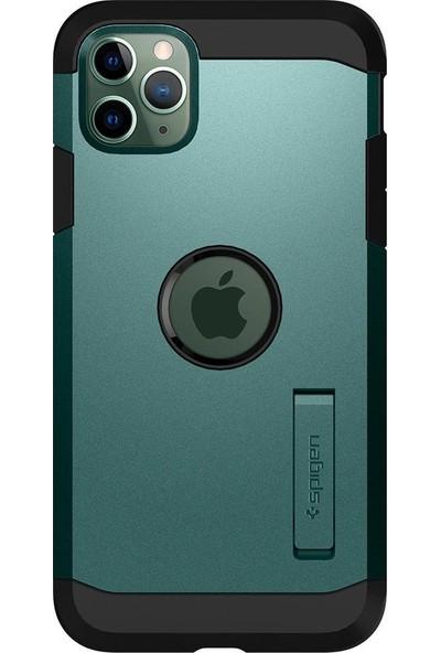 Spigen Apple iPhone 11 Pro Kılıf Tough Armor XP Midnight Green - ACS00420