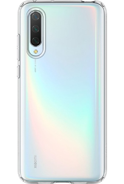 Spigen Xiaomi Mi 9 lite Kılıf Liquid Crystal 4 Tarafı Tam Koruma Crystal Clear - S52CS26401