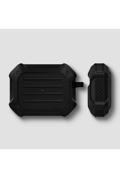 Spigen Apple AirPods Pro Kılıf Tough Armor Black - ASD00537