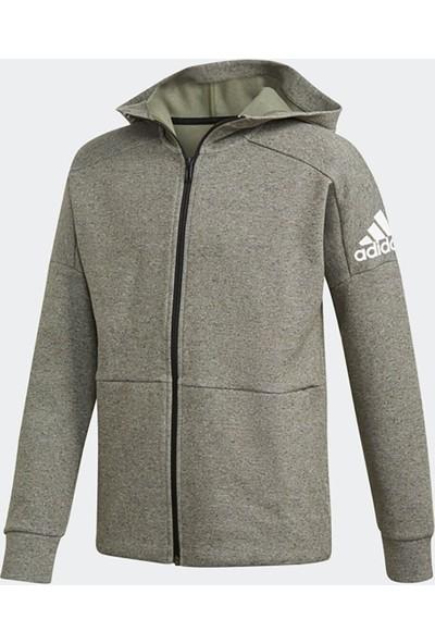 Adidas Yb Stadium Fz Gri Erkek Çocuk Sweatshirt