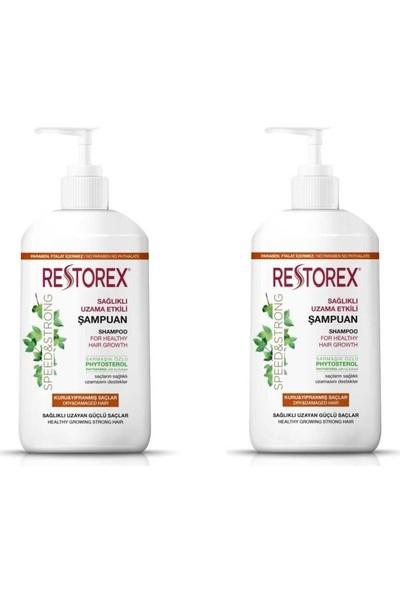 Restorex Kuru - Yıpranmış Saçlar Için Şampuan 1000 ml x 2 Adet