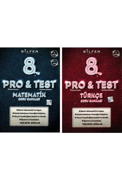 Bilfen Yayınları 8. Sınıf Lgs Pro & Test Matematik Türkçe Soru Bankası Seti 2 Kitap