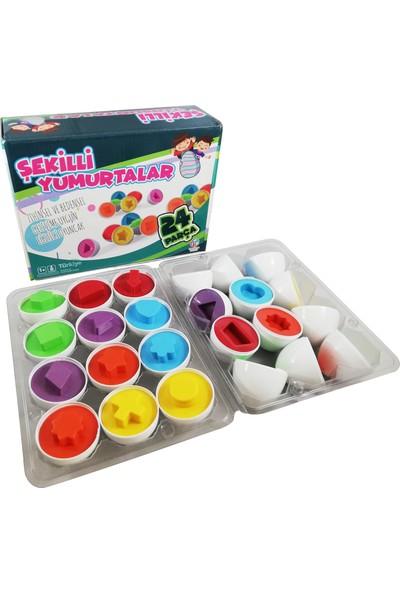Hobi Eğitim Dünyası Şekilli Yumurtalar Eğitici Oyuncak