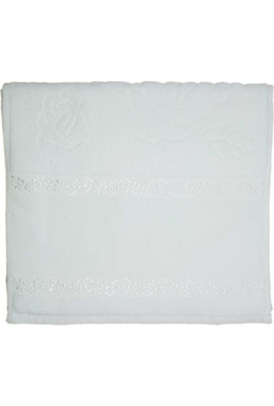 Fiesta Soft 6'lı Etaminli Havlu Kanaviçelik Beyaz 30 x 50 cm