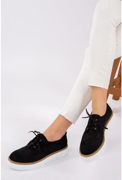Fox Shoes Siyah Kadın Ayakkabı H996091002