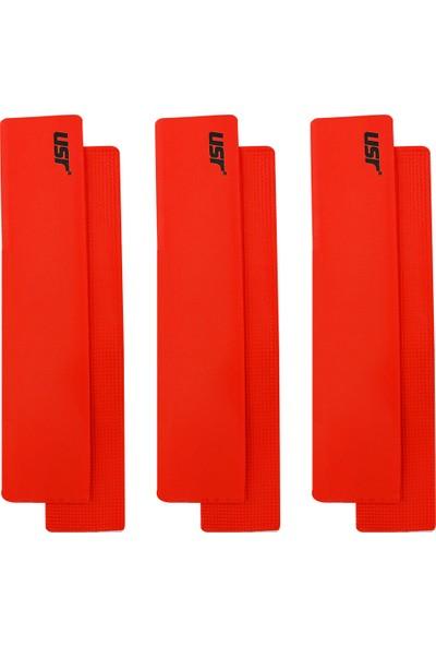USR DYK 6 lı Düz Yer İşareti Seti Kırmızı