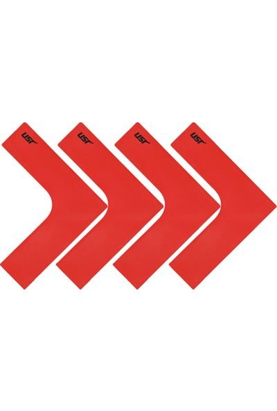 USR KYK 4 lü Köşe Yer İşareti Seti Kırmızı