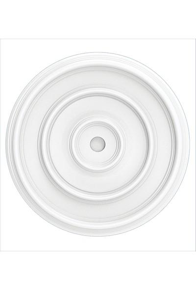Polsis Strafor Tavan Göbeği PG507 Beyaz 2'li Paket 50 cm