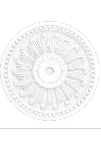 Polsis Strafor Tavan Göbeği PG403 Beyaz 2'li Paket 40 cm