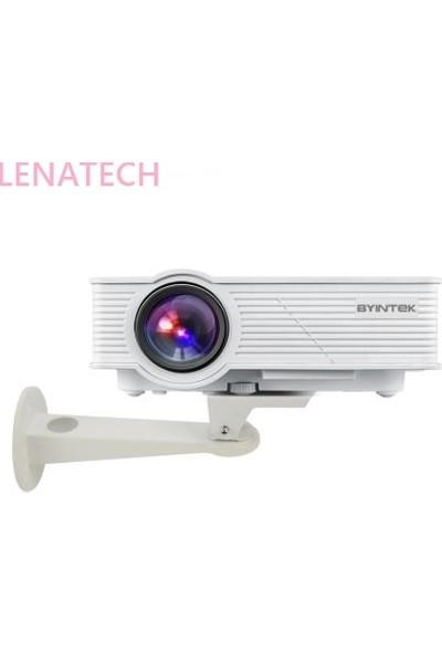 Lenatech Mini Projektörler İçin Duvar Tipi Asma Aparatı 16.5 cm