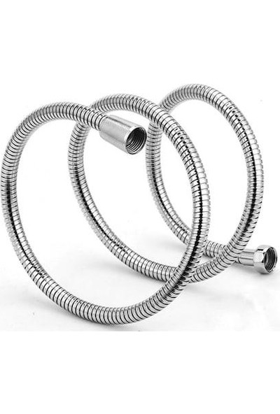 Tema Banyo Duş Hortumu Lüx Kromajlı Örgülü Spiral 180 cm