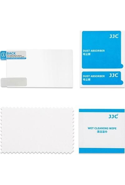 JJC LCP-G7X LCD Ekran Koruyucu Film 2'li Paket Canon G9X II G7X II Eos M6 G5X G9X G7X M100 G1X III
