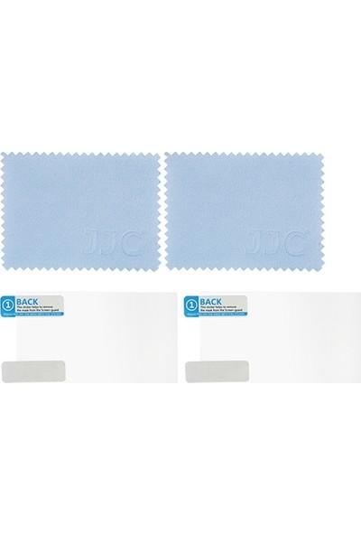 JJC LCP-EM10M2 LCD Ekran Koruyucu Film 2'li Paket Olympus E-M1/m1 II/m5/m5 II/M10/M10 II/M10 III Pen-F E-P5/pl7/pl8/pl9