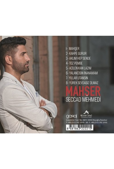 Seccad Mehmedi - Mahşer CD
