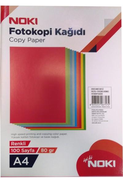 Noki Fotokopi Kağıdı 10 Renkli 100'Lü 89105
