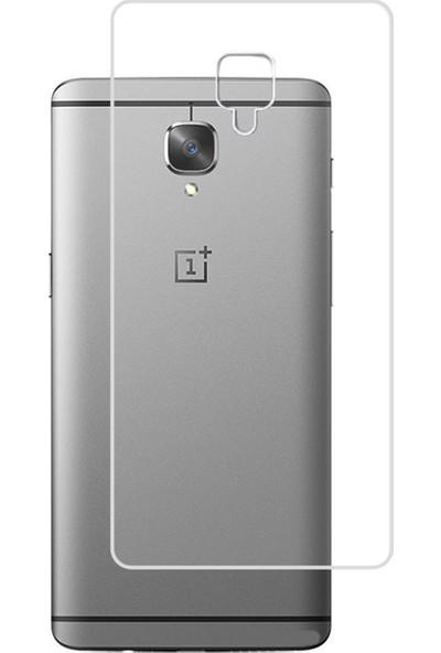 Microcase OnePlus 3 Full Arka Kaplama TPU Soft Filmi