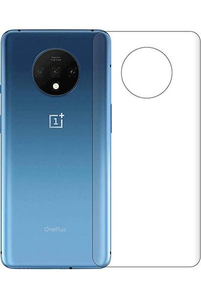 Microcase OnePlus 7T Full Arka Kaplama TPU Soft Filmi