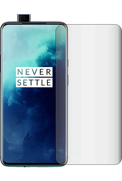 Microcase OnePlus 7T Pro Full Ön Kaplama TPU Soft Filmi