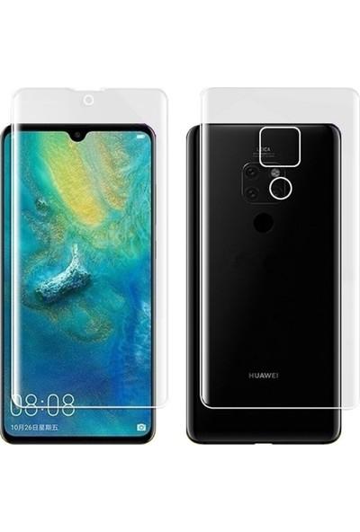Microcase Huawei Mate 20 Full Ön Arka Kaplama TPU Soft Filmi
