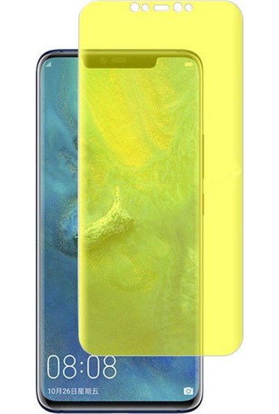 Microcase Huawei Mate 20 Pro Full Ön Kaplama TPU Soft Filmi