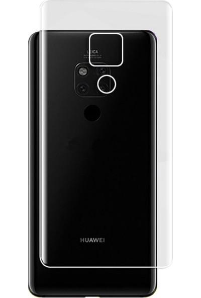 Microcase Huawei Mate 20 X Full Arka Kaplama TPU Soft Filmi