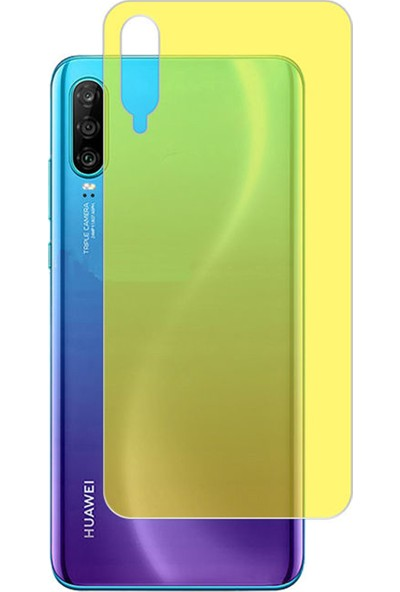 Microcase Huawei P30 Full Arka Kaplama TPU Soft Filmi