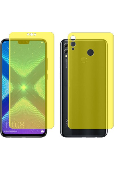 Microcase Huawei Honor 8X Full Ön Arka Kaplama TPU Soft Filmi