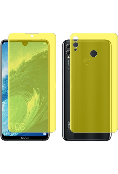 Microcase Huawei Honor 8X MAX Full Ön Arka Kaplama TPU Soft Filmi