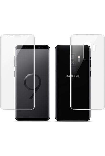 Microcase Samsung Galaxy S9 Plus Full Ön Arka Kaplama TPU Soft Filmi