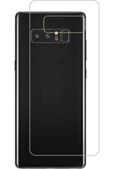 Microcase Samsung Galaxy Note 8 Full Arka Kaplama TPU Soft Filmi