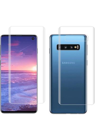 Microcase Samsung Galaxy S10 Full Ön Arka Kaplama TPU Soft Filmi