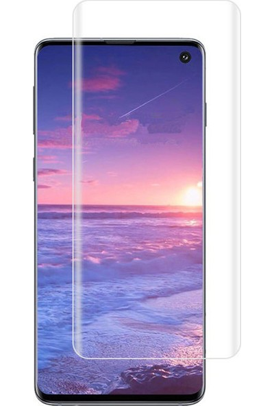 Microcase Samsung Galaxy S10 Full Ön Kaplama TPU Soft Filmi