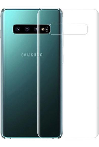 Microcase Samsung Galaxy S10 Plus Full Arka Kaplama TPU Soft Filmi