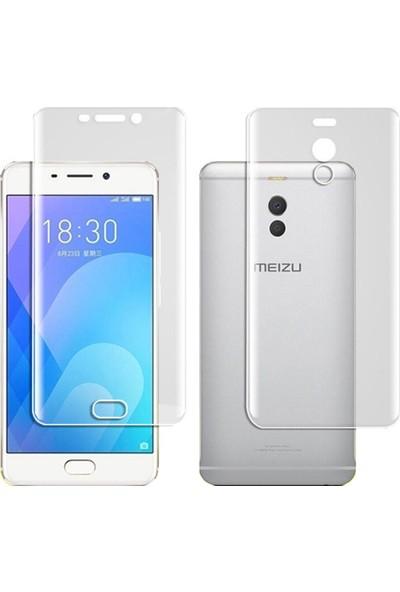 Microcase Meizu M6 Note 5.5 inch Full Ön Arka Kaplama TPU Soft Filmi