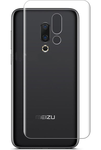 Microcase Meizu 16TH Full Arka Kaplama TPU Soft Filmi