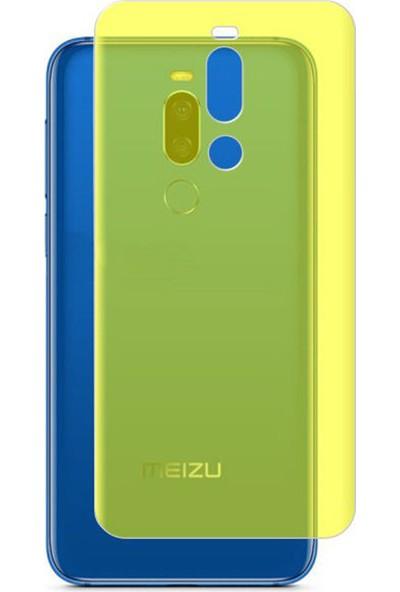 Microcase Meizu X8 Full Arka Kaplama TPU Soft Filmi