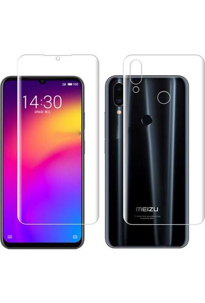 Microcase Meizu Note 9 Full Ön Arka Kaplama TPU Soft Filmi