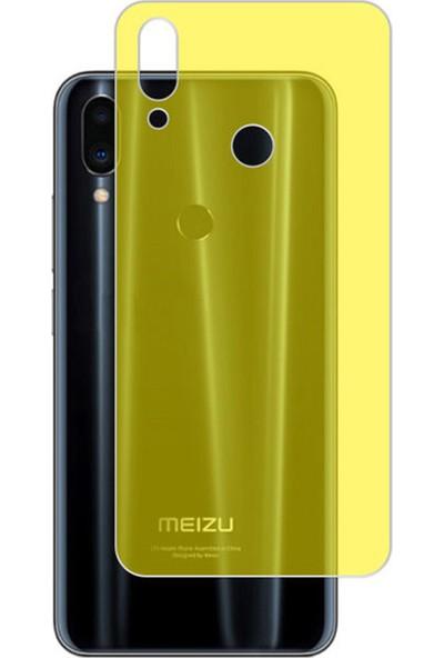 Microcase Meizu Note 9 Full Arka Kaplama TPU Soft Filmi