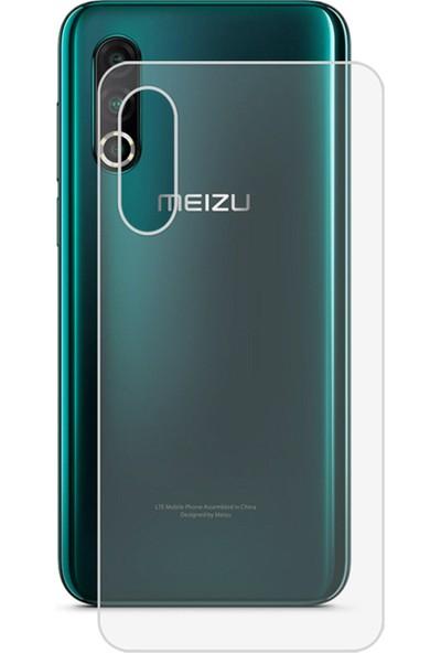 Microcase Meizu 16s Pro Full Arka Kaplama TPU Soft Filmi