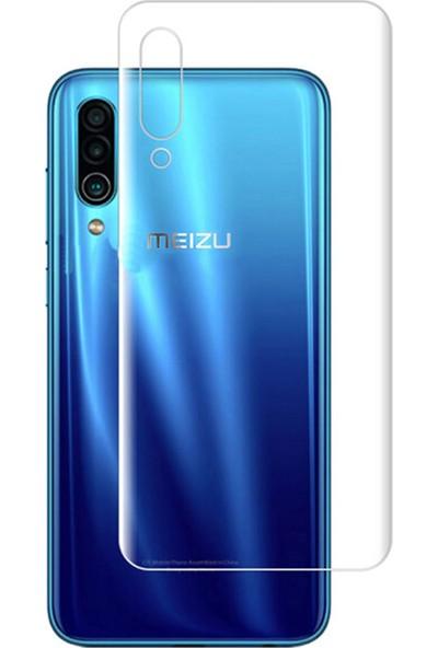Microcase Meizu 16Xs Full Arka Kaplama TPU Soft Filmi