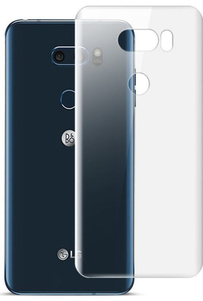 Microcase LG V30 Full Arka Kaplama TPU Soft Filmi