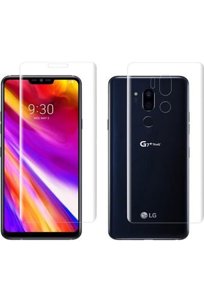 Microcase LG G7 ThinQ Full Ön Arka Kaplama TPU Soft Filmi