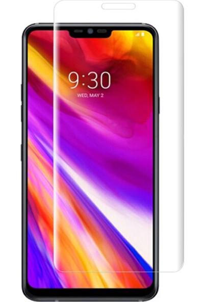 Microcase LG G7 ThinQ Full Ön Kaplama TPU Soft Filmi
