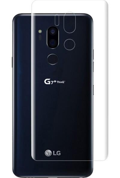 Microcase LG G7 ThinQ Full Arka Kaplama TPU Soft Filmi