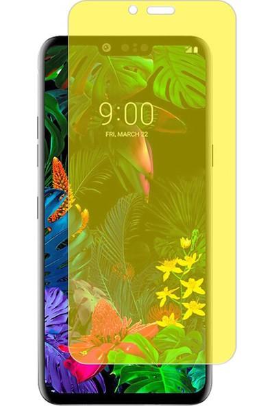 Microcase LG G8 ThinQ Full Ön Kaplama TPU Soft Filmi