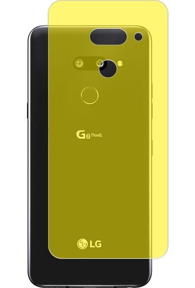 Microcase LG G8 ThinQ Full Arka Kaplama TPU Soft Filmi