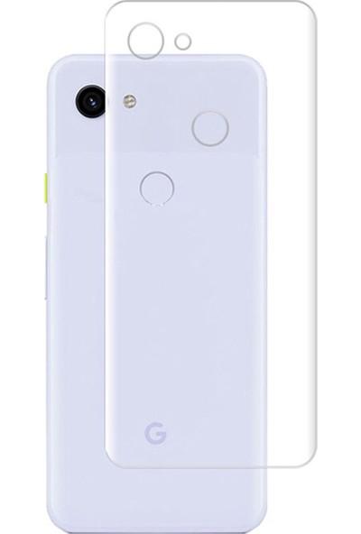 Microcase Google Pixel 3A Full Arka Kaplama TPU Soft Filmi