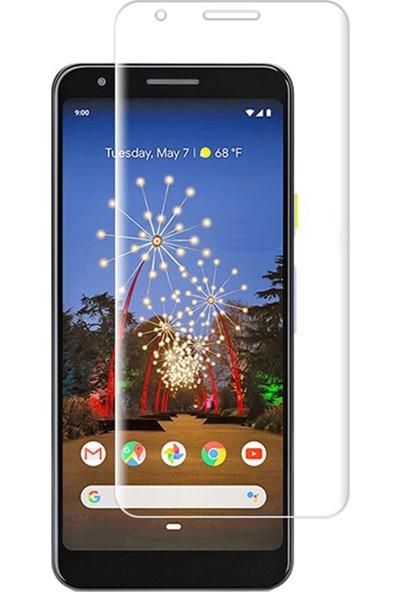 Microcase Google Pixel 3A XL Full Ön Kaplama TPU Soft Filmi