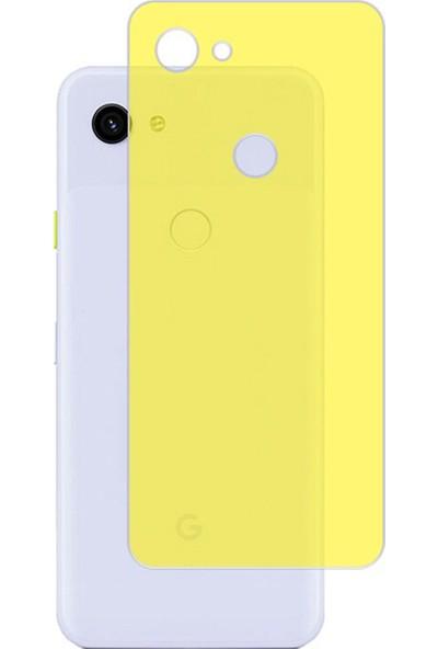 Microcase Google Pixel 3A XL Full Arka Kaplama TPU Soft Filmi