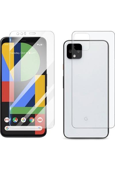 Microcase Google Pixel 4 XL Full Ön Arka Kaplama TPU Soft Filmi